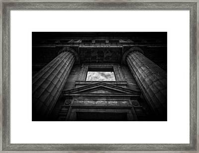 The Bank Framed Print