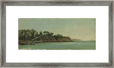 The Banks Of The Rance Framed Print by MotionAge Designs