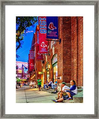 The Banners 126 Framed Print by Jeff Stallard