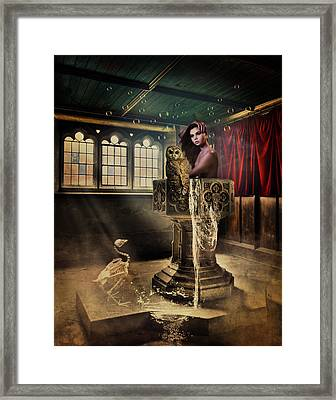 The Baptism Framed Print by Terry Fleckney