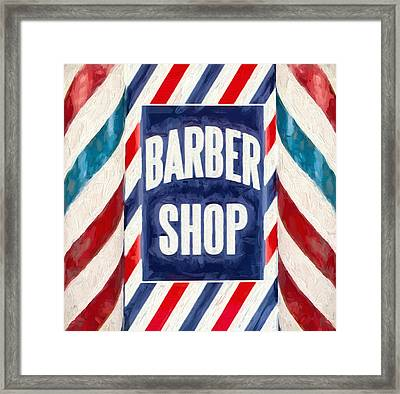 The Barber Shop Framed Print by Dan Sproul