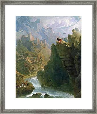 The Bard Framed Print by John Martin