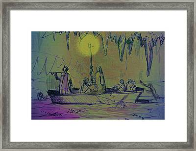The Barque Of Dante Framed Print