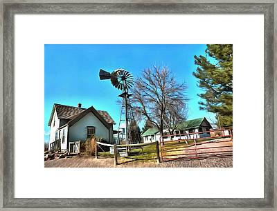 The Barn 1 Framed Print