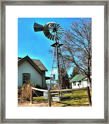 The Barn 2 Framed Print