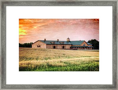 The Barn II Framed Print by Everet Regal