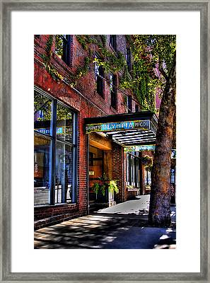 The Barney Mccoy Cafe Framed Print