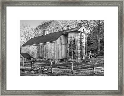 The Barnyard Framed Print by Bill Wakeley