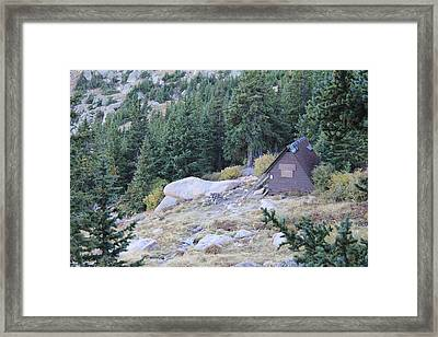 The Barr Trail A Frame Framed Print