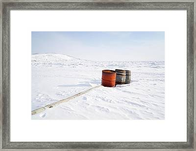 The Barrels Framed Print by Nick Mares