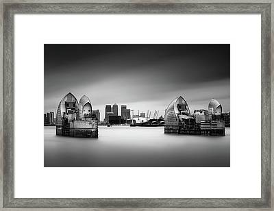 The Barrier Framed Print by Ivo Kerssemakers
