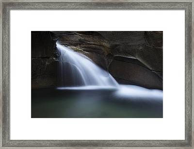 The Basin Framed Print by Jeff Burton