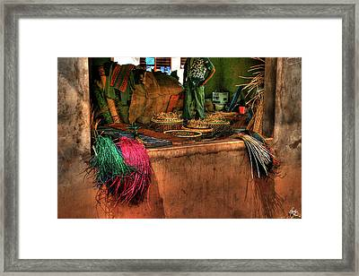 The Basket Cooperative Framed Print