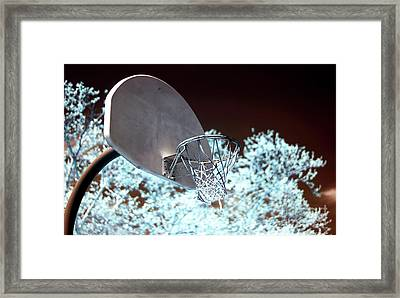 The Basket Framed Print by John Rizzuto
