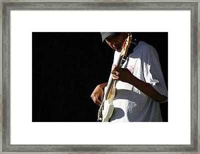 The Bassman Framed Print by Joe Kozlowski