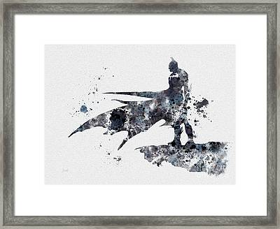 The Bat Framed Print by Rebecca Jenkins