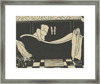 The Bath Framed Print