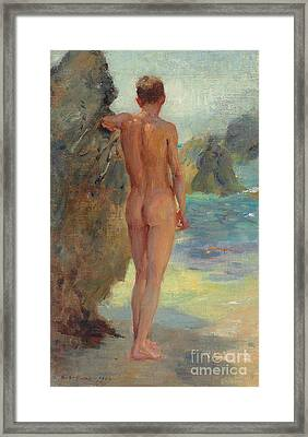 The Bather, 1912 Framed Print