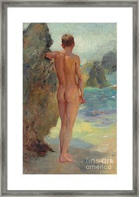The Bather, 1912 Framed Print