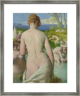 The Bathers Framed Print by William Mulready