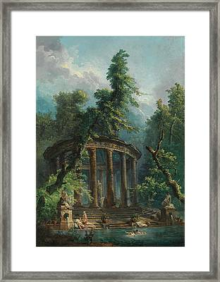 The Bathing Pool Framed Print