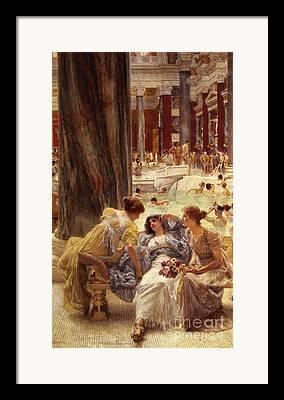 Tadema Framed Prints