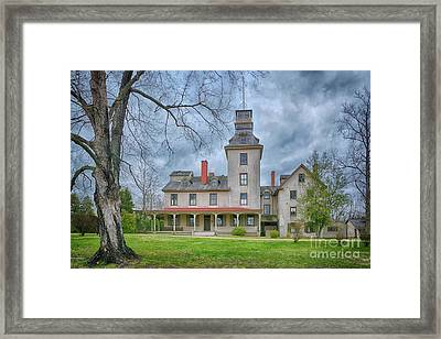 The Batsto Mansion Framed Print by Priscilla Burgers