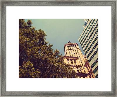 The Battery Framed Print by Jhoy E Meade