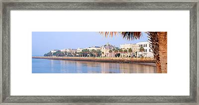 The Battery, Waterfront, Charleston Framed Print