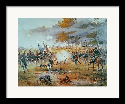 Antietam Paintings Framed Prints
