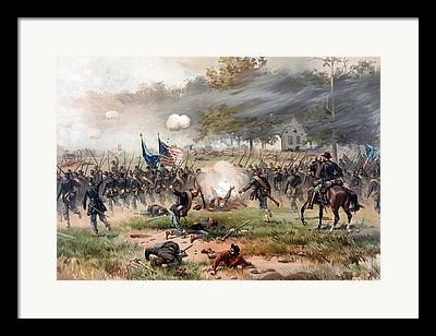 Antietam Framed Prints