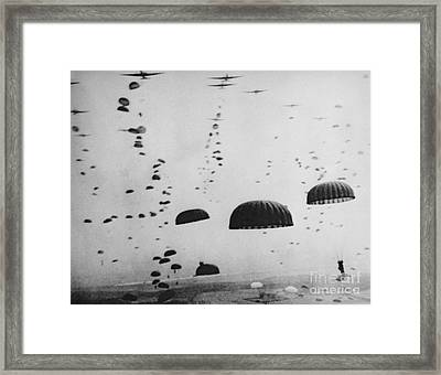 The Battle Of Arnhem  Operation Market Garden Framed Print