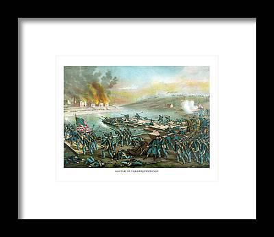 Fredericksburg Framed Prints
