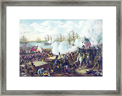 The Battle Of New Orleans Framed Print