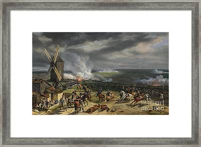 The Battle Of Valmy Framed Print by Celestial Images