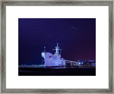 The Battleship Framed Print