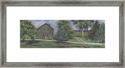 The Bauer Farm Framed Print by Terri  Meyer