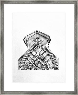 The Baughman Center Framed Print