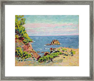 The Baumettes Framed Print by Jean Baptiste Armand Guillaumin