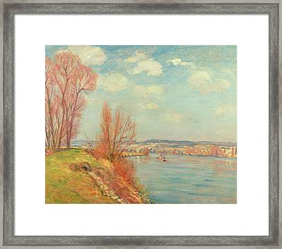 The Bay And The River Framed Print by Jean Baptiste Armand Guillaumin