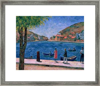 The Bay Of Balaklava Framed Print