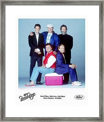 The Beach Boys 1989. Framed Print