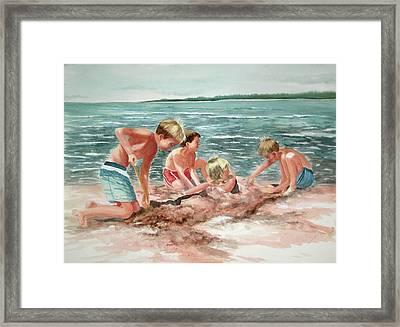 The Beach Boys Framed Print