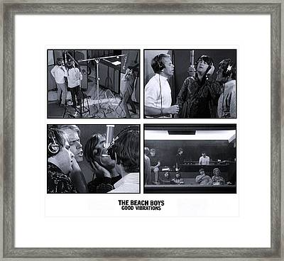 The Beach Boys - Good Vibrations Framed Print by The Titanic Project