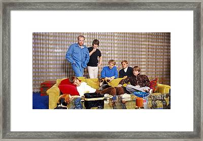 The Beach Boys In 1966. Framed Print by The Titanic Project