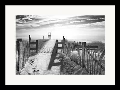 Nauset Beach In Orleans Framed Prints