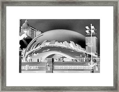 The Bean - 1 Framed Print
