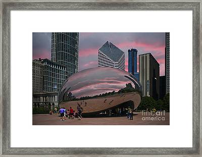 The Bean - Chicago Framed Print by Jim Wright