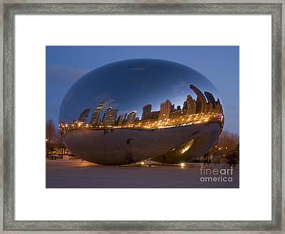 The Bean - Millenium Park - Chicago Framed Print by Jim Wright