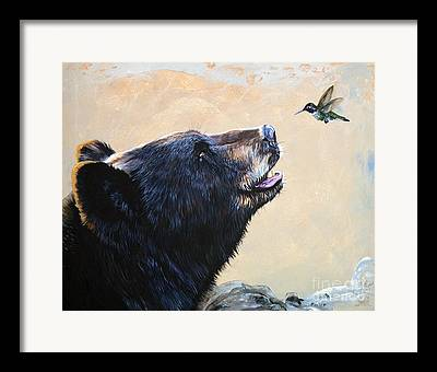 Totem Animal Framed Prints